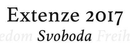 Extenze 2017 - Svoboda