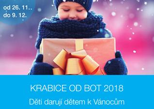 Krabice od bot 2018 - Humanitární sbírka