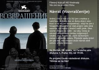 Filmový klub - Návrat