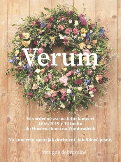 Verum - letní koncert