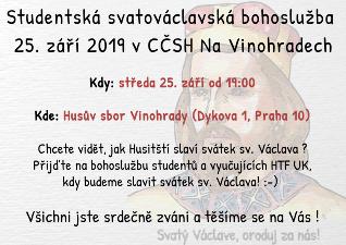 Studentská svatováclavská bohoslužba