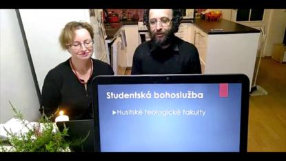 Eva Vymětalová Hrabáková a Mikuláš Vymětal - ONLINE STUDENTSKÁ BOHOSLUŽBA