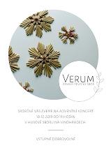 Adventní koncert ženského sboru VERUM
