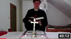 Svátek Zvěstování Páně - Terezie Remencová (ONLINE STUDENTSKÁ BOHOSLUŽBA)