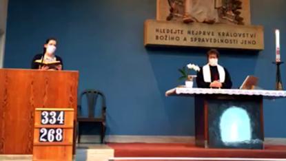 Šestá neděle velikonoční v CČSH Vinohrady (17. května 2020)