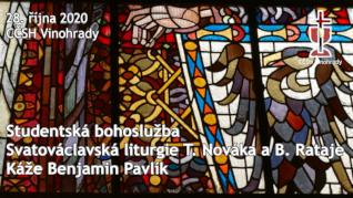 Studentská bohoslužba - Svatý Václav - Online bohoslužba