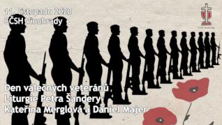Den válečných veteránů - studentská bohoslužba online