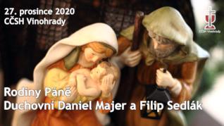 Rodiny Páně - online bohoslužba