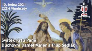 Svátek Křtu Páně - online nedělení bohoslužba