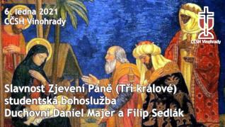 TŘI KRÁLOVÉ (Slavnost Zjevení Páně) v CČSH Vinohrady