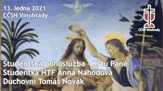 Studentská bohoslužba - Anna Náhodová