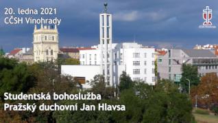 Jan Hlavsa - studentská bohoslužba