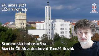 Martin Čihák - studentská bohoslužba