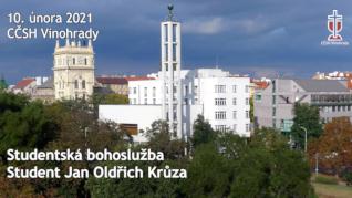 Jan Oldřich Krůza - studentská bohoslužba