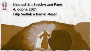 Slavnost Zmrtvýchvstání Páně v CČSH Vinohrady (4. dubna 2021)