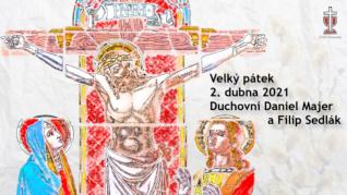Velký pátek v CČSH Vinohrady (2. dubna 2021)