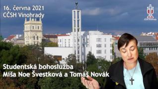Míša Noe Švestková - studentská bohoslužba (16. června 2021)